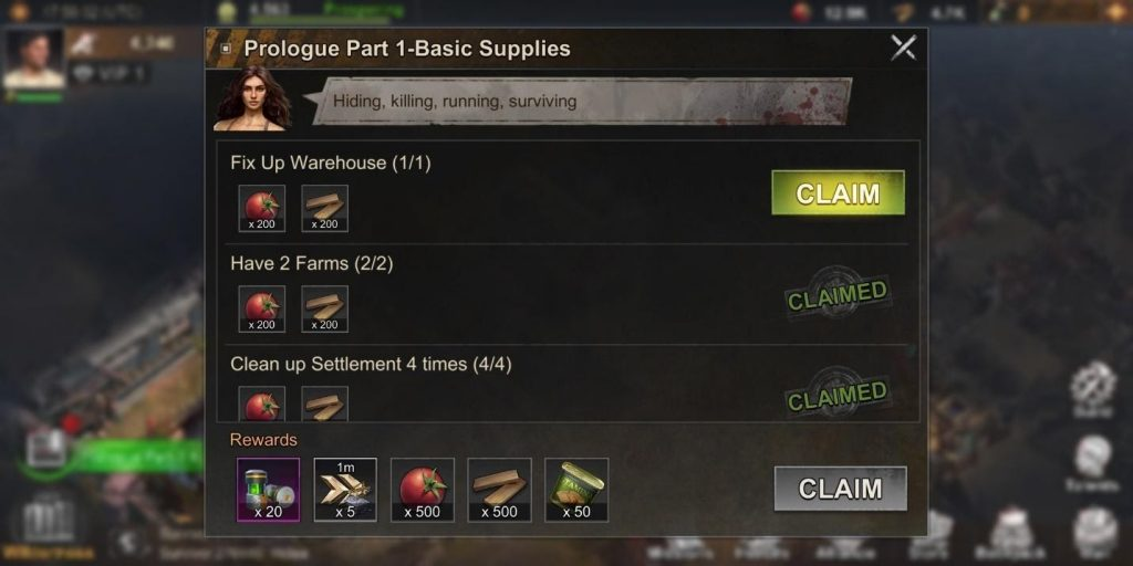State of Survival Game Quests
